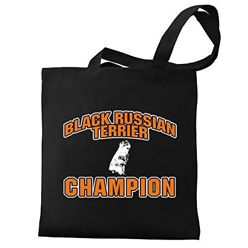 Eddany Black Russian Terrier champion Bereich für Taschen