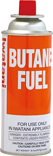 Iwatani Corporation of America BU-6 butane fuel, 8 oz, Orange ()