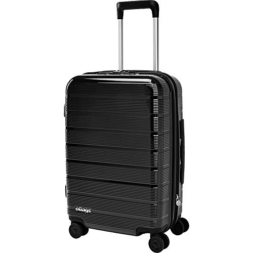 eBags Fortis Pro Traveler Hardside Spinner Carry-On (Black)