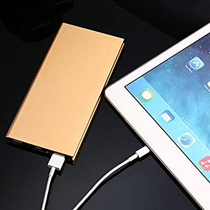 50000mAh Universal Power Bank 9.5mm Ultra Thin Dual USB Output Mobile Power Portable Battery Charger Power Source