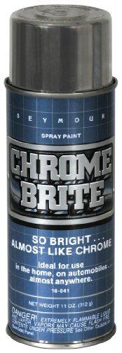 Seymour 16 041 automotive specialties spray paint chrome for Chrome paint price