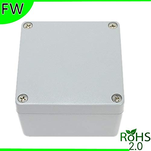 Fetcus Aluminum die-cast Metal Chassis of Electronic Instruments Waterproof Boxes Junction housing Box Enclosure 12012082mm