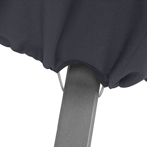 Classic Accessories 55-815-040401-00 Patio Lounge Chair Cover, Black, Large by Classic Accessories (Image #4)