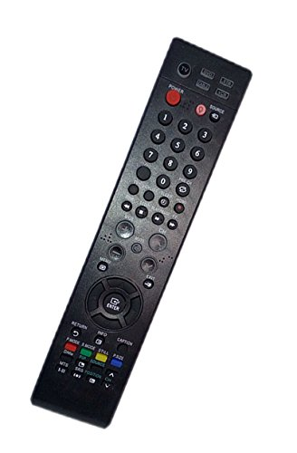 Xap Tv - Replaced Remote Control Compatible for Samsung LNT375HA BP59-00107A HPT5054X/XAP LN32R71BAX/XAZ TXT2793H HLS6187WX/XAA HLS5055W Plasma LCD LED HDTV TV