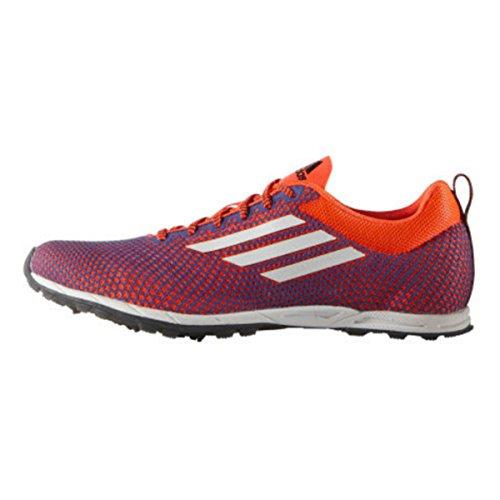 adidas XCS 6 Womens Cross Country Running Spike Shoe Blue/Orange - UK 5.5