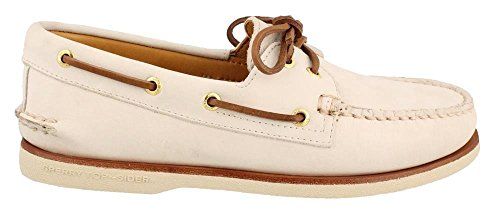 Sperry Leather Auténtico Top Ivory Boat Marfil Original Sider Shoe Cup Gold fwfqrIv