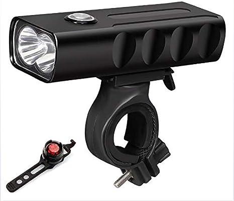 ZUZU Moto Sistema de la luz, luz Recargable de la Bicicleta de la ...