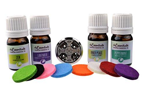 mEssentials Celtic Cross Aromatherapy Car Air Freshener Esse