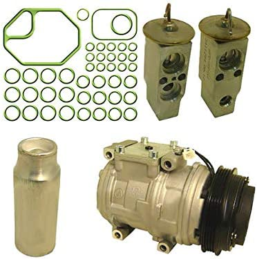 A//C Compressor Kit 10PA15L Compatible with 1995-2004 Toyota Tacoma 3.4L V6 4-Groove