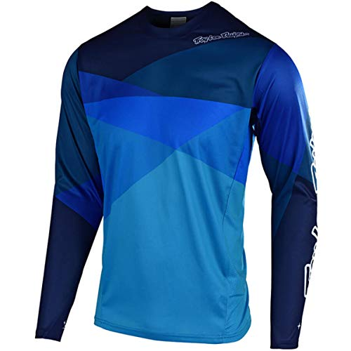 (Troy Lee Designs Sprint Jersey - Boys' Jet Blue, L)