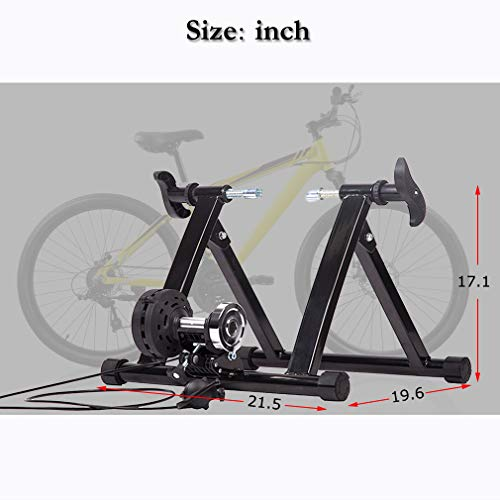 BestMassage Magnet Steel Bike Bicycle Indoor Exercise Trainer Stand by BestMassage (Image #5)