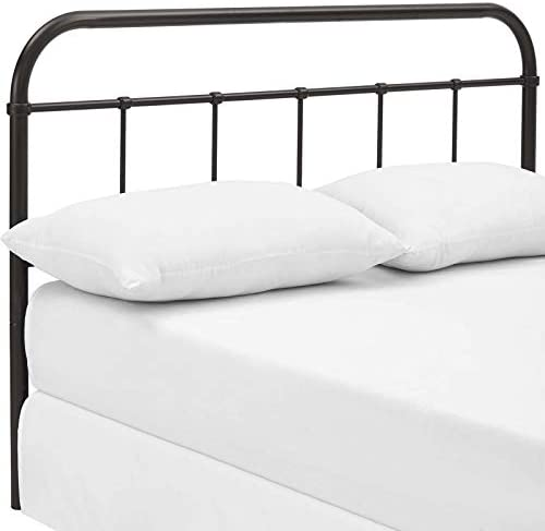 Modway Serena Rustic Farmhouse Style Steel Metal King Headboard Size Review