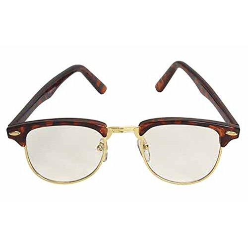 Nerdy Soho Glasses With Tortoise and Gold - Soho Eyewear Frames
