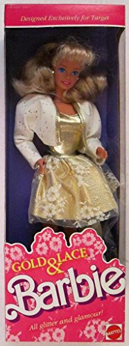 (Mattel Gold & Lace Barbie 1989)