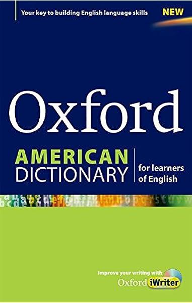 Oxford American Dictionary for learners of English (Diccionario Oxford  Monolingue Americano): Varios Autores: 9780194399722: Amazon.com: Books