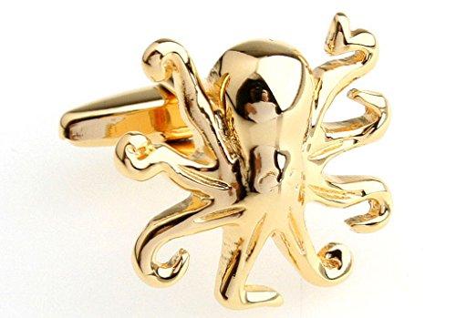 Trend Leader Unique Cufflinks Marine animals cuff Octopus style cuff links French cuff men's shirt cuffs buckle