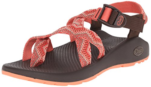 Chaco Women's Z2 Classic-W, Beaded, 11 M US - Pink Beaded Sandals