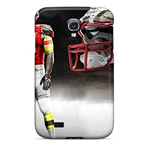 Hot MIH1596LKNq Case Cover Protector For Galaxy S4- Kansas City Chiefs