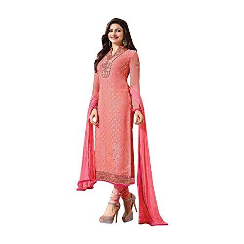 Anarkali indiano donne vestito indo western Suit Salwar Wear abito 338 pakistano designer Party musulmana I4xvUqfw