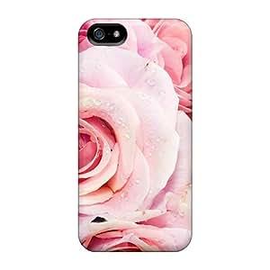 Unique Design Iphone 5/5s Durable Tpu Case Cover Nature Flowers Bouquet Of Roses