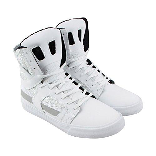 Supra Mens Skytop Ii 18 Scarpe Bianco-bianco