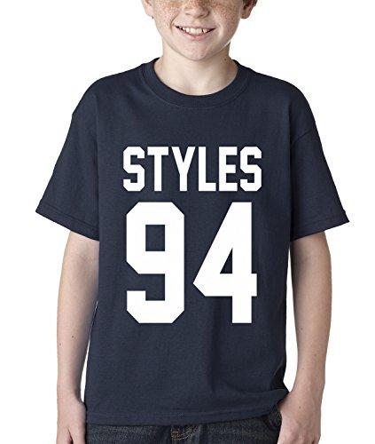 Kids Styles 94 T-Shirt Medium Navy Blue