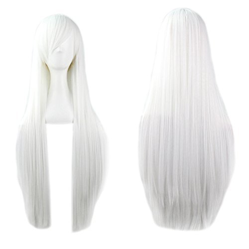 White long CosPlay Wig - Straight