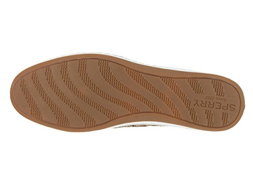 Sperry Top-Sider Firefish Animal barco zapatos de la mujer Tan Leopard
