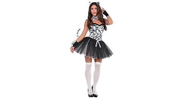 Christy`s - Disfraz de cebra para mujer, talla UK 14-16 (997103 ...