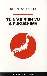 Tu n'as rien vu à Fukushima, Roulet, Daniel de