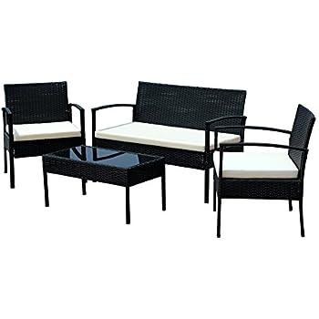 Amazon.com : IDS Home Compact Garden Lawn Outdoor/Indoor 4 PC ...