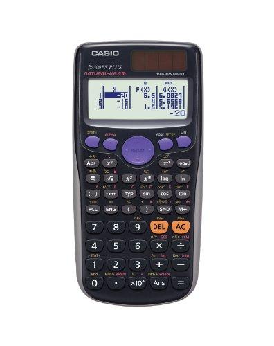 Casio fx-300ES PLUS Scientific Calculator, Black, Teacher...