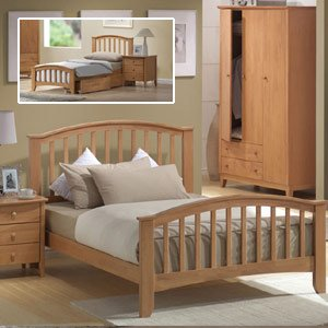 Joseph Elle 4ft Small Double Wooden Bedframe Trundle Bed Amazon Co