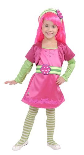 Rubies Strawberry Shortcake and Friends Deluxe Raspberry Tart Costume, Small - Strawberry Shortcake Halloween Costumes Adult