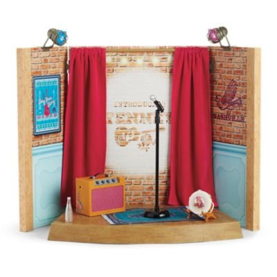 American Girl Tenney's Stage & Dressing Room for 18-inch Dolls