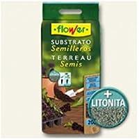 Flower 80049 80049-Substrato semilleros, 20 l, No Aplica