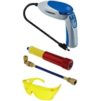 Protech 55300 Electronic/UV Refrigerant Leak Detector Kit with Cartridge Type Dye Injector