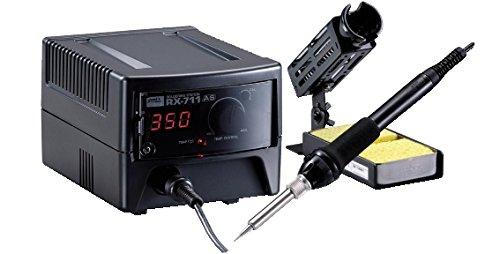 Goot rx-711as) -stazione Soldadura con Bujías Incandescentes y control temperatura-potenza Color 65 W Transmisión Color 230 VCA Voltaje de Salida Color 24 V ...