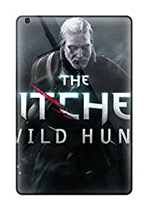 3789271J17318696 Rugged Skin Case Cover For Ipad Mini 2- Eco-friendly Packaging(the Witcher 3 Wild Hunt)