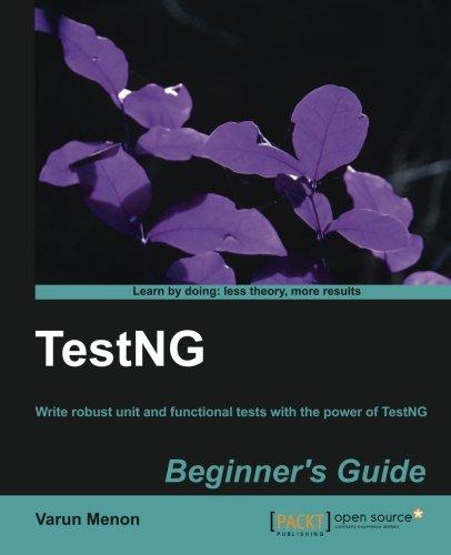 TestNG Beginner's Guide