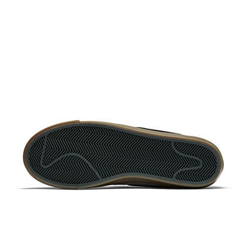 Nike BLAZER LOW GT mens skateboarding-shoes 704939-018_5.5 - GUNSMOKE/BLACK SPRUCE-GUM LIGHT BROWN