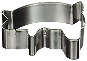 Fox Run 3341 Pig Cookie Cutter, 3-Inch, Stainless Steel