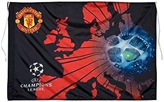 Original Manchester United FC Fahne/Bandiera/Flag 100x 65cm UEFA Champions League