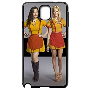 2 Broke Girls Samsung Galaxy Note 3 Black Phone Case Christmas Gifts&Gift Attractive Phone Case KHUAA523390