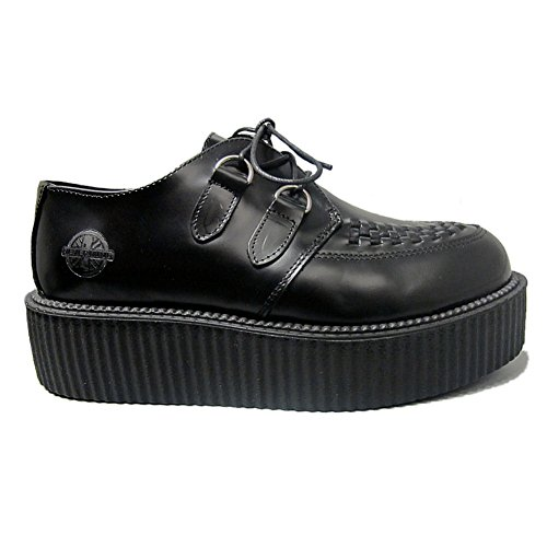 Suola Rockabilly Leather Blk Womens Sole Nevermind Umd Nevermind Rampicanti Blk Rockabilly Cuoio Womens Doppia Creepers Rampicanti Umd Double Creepers UxaUCBq