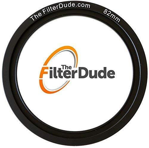 FilterDude - LEE Compatible 82mm Wide Angle Adapter Ring for Filter Holder