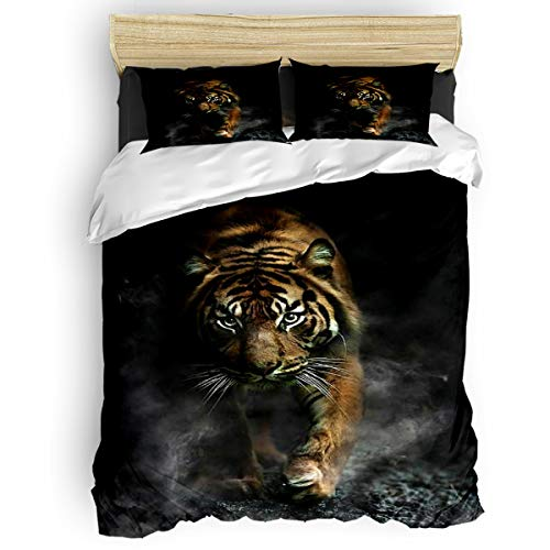 beautiful tiger bedding sets