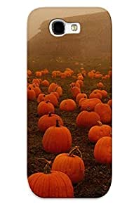 Fashionable Style Case Cover Skin Series For Galaxy Note 2- Halloween Fog Spooky Pumpkins