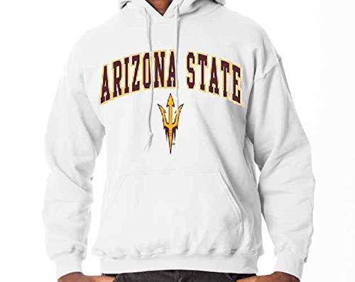 Arizona State Sun Devils Arch & Logo Gameday Hooded Sweatshirt - - University Basketball Arizona State