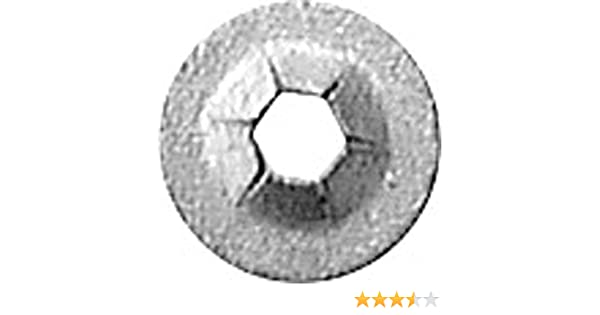 Clipsandfasteners Inc 100 1//16 Stud Flat Push-On Retainers 3//16 O.D.
